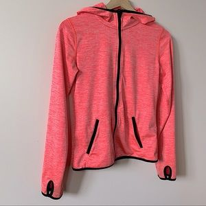 3/20💫 H&M   Pink long sleeve zip up size XS-M